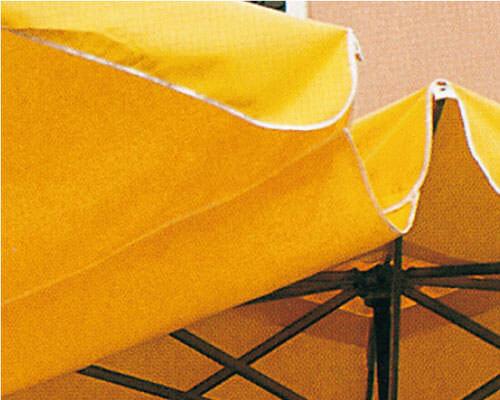 Gouttière parasol